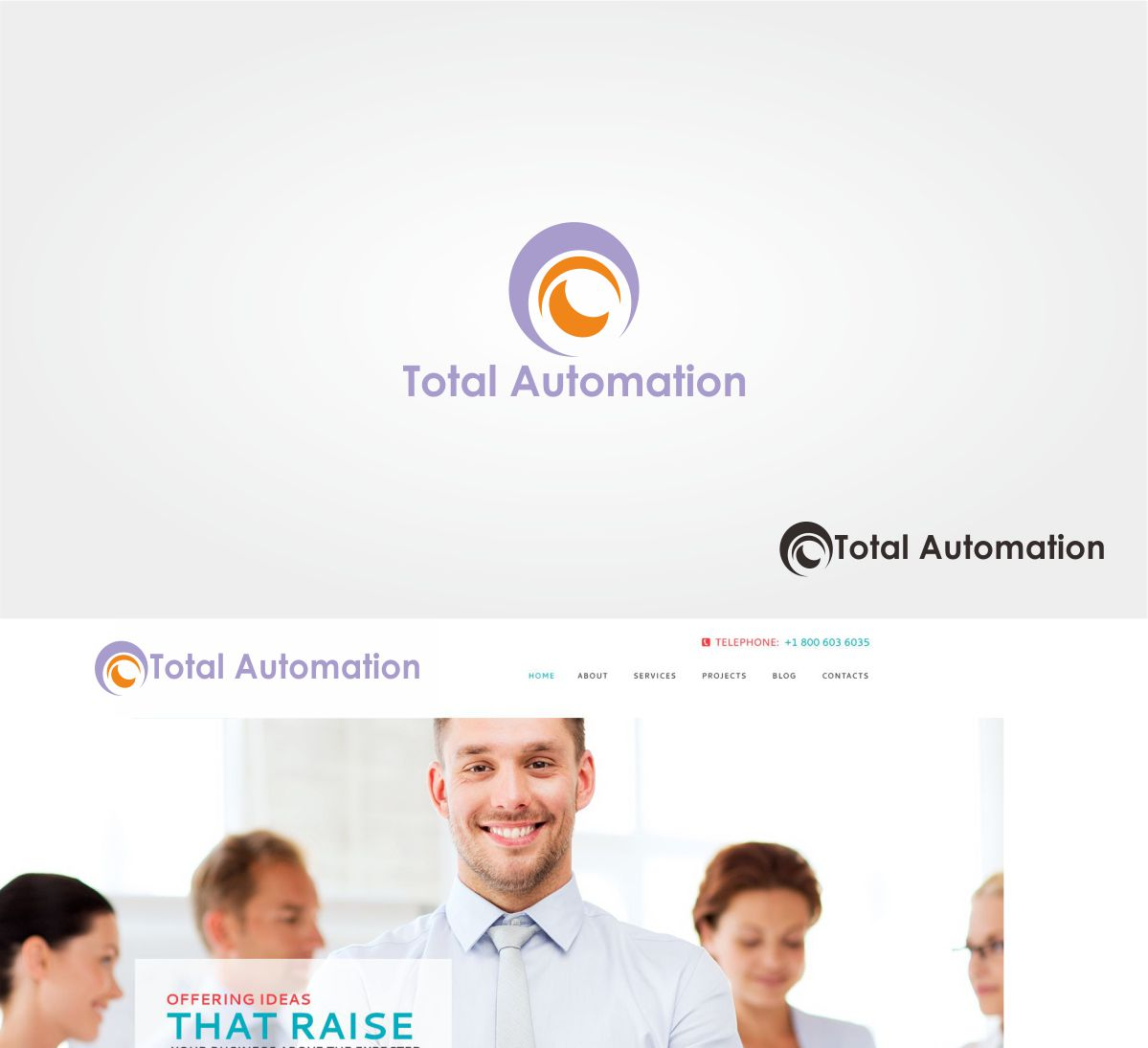 Bold Playful It Company Logo Design For Total Automation By
