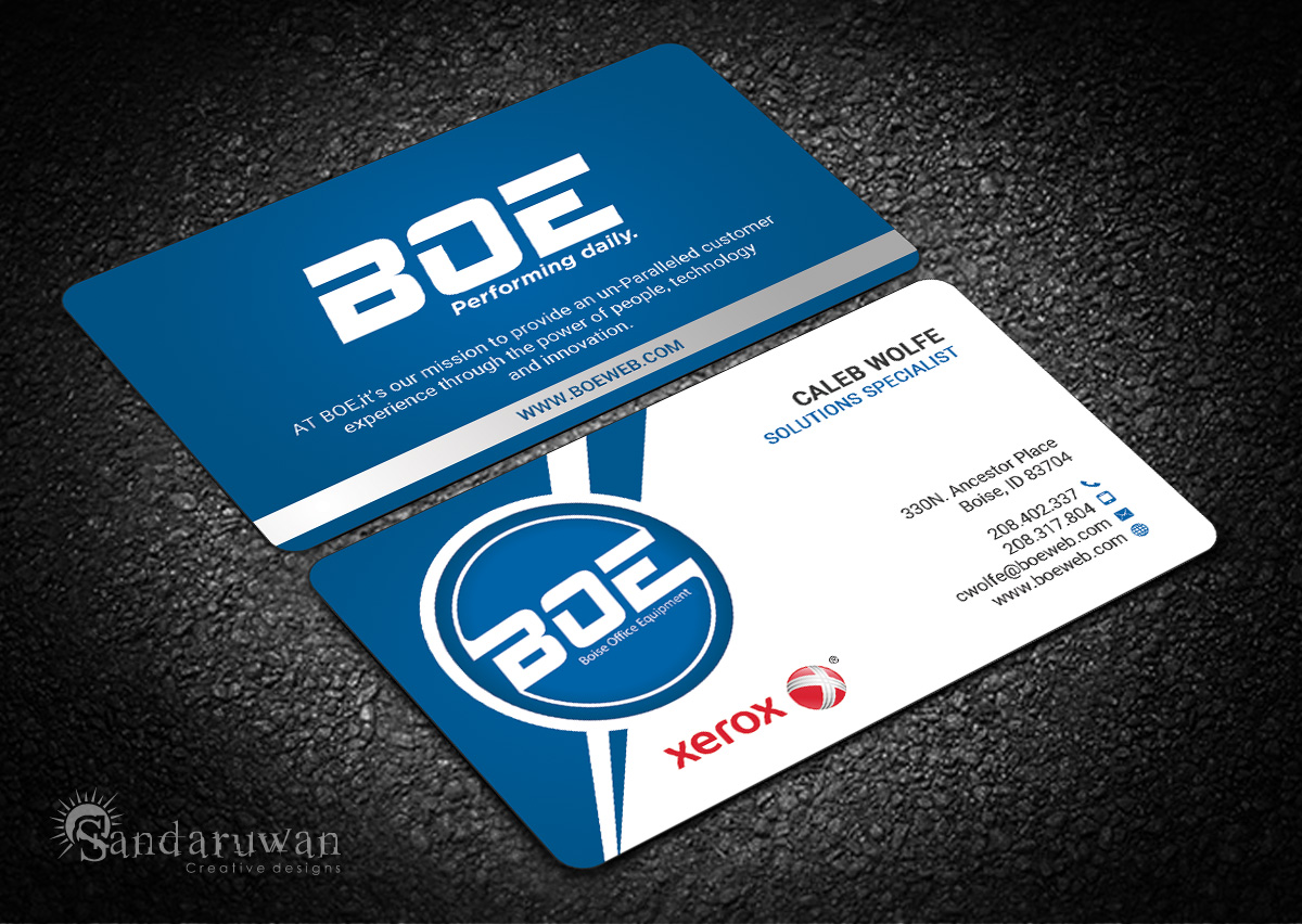 Professional bold business business card design for a company by business card design by sandaruwan for this project design 14541625 reheart Choice Image