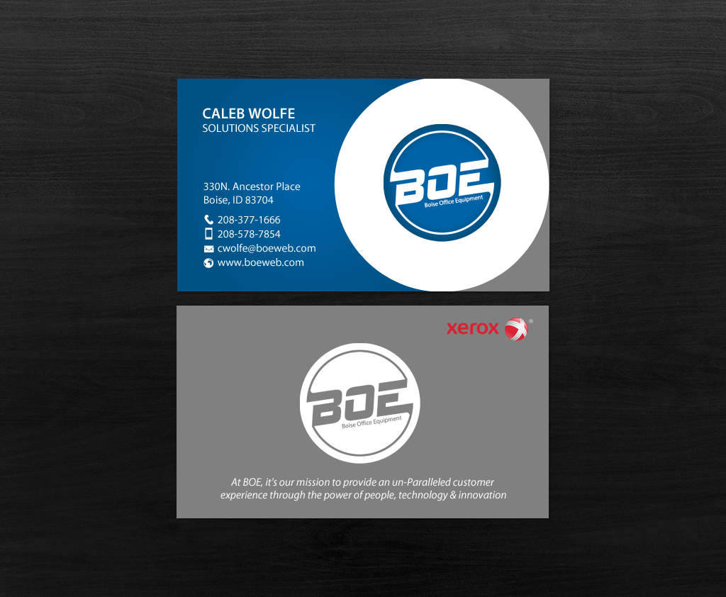 Professional bold business business card design for a company by business card design by chandrayaaneative for this project design 14542271 colourmoves