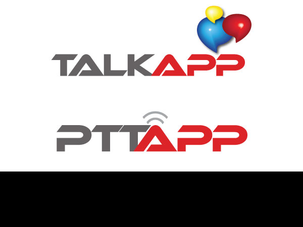 Printing logo design for talk app and ptt services or ptt for International decor services