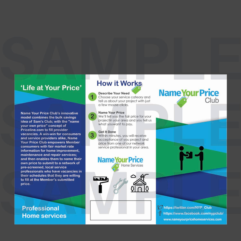 club flyer design for a company by ayesha naeem design 14560776