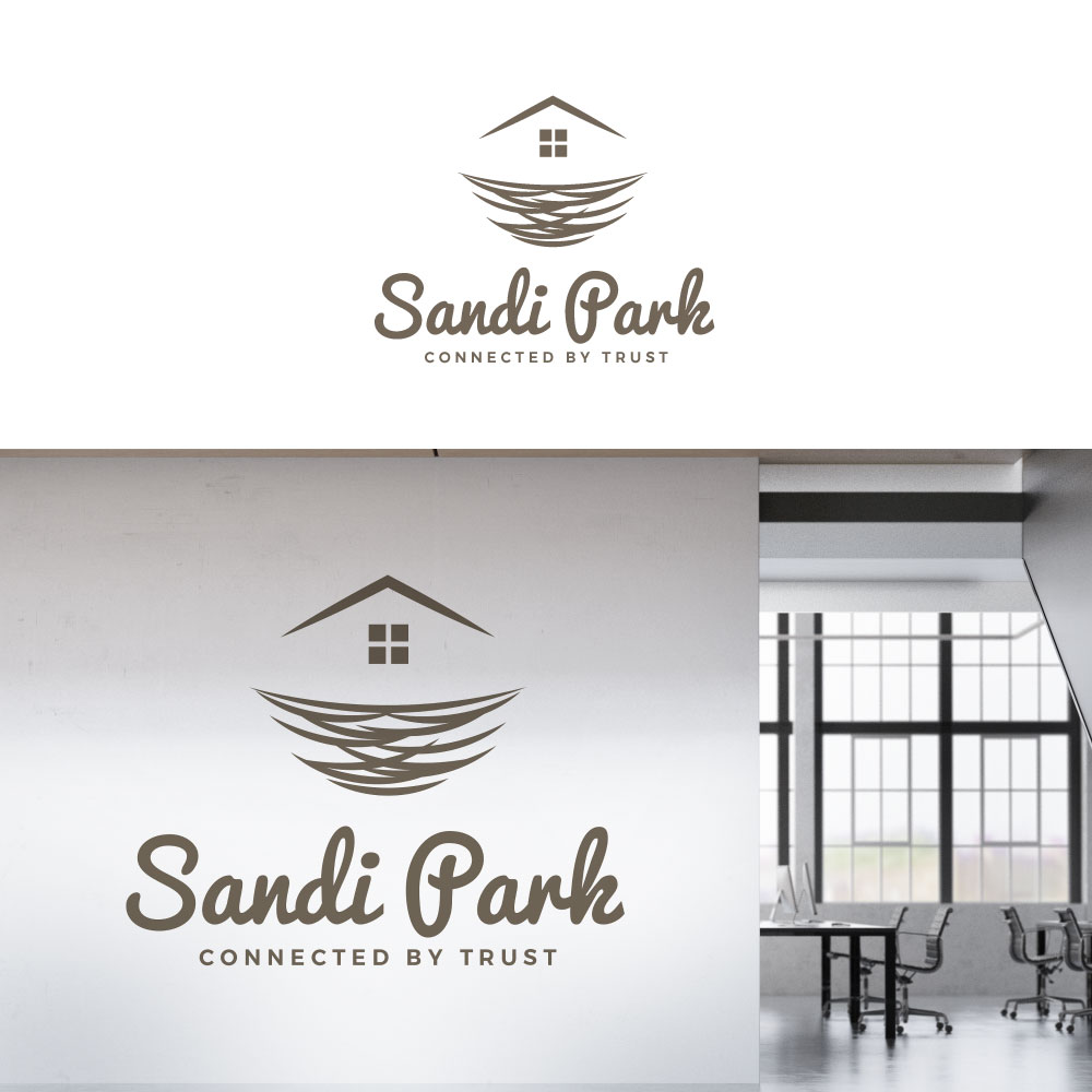 Modern Upmarket Real Estate Agent Logo Design For The Graphical