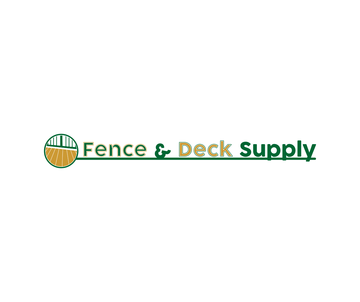 Serious, Modern, Home Improvement Logo Design for Fence & Deck ...