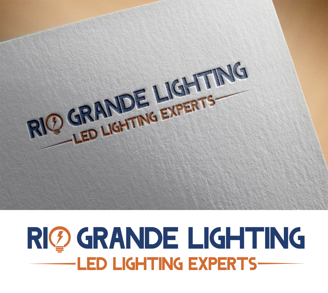 professional upmarket construction logo design for rio grande