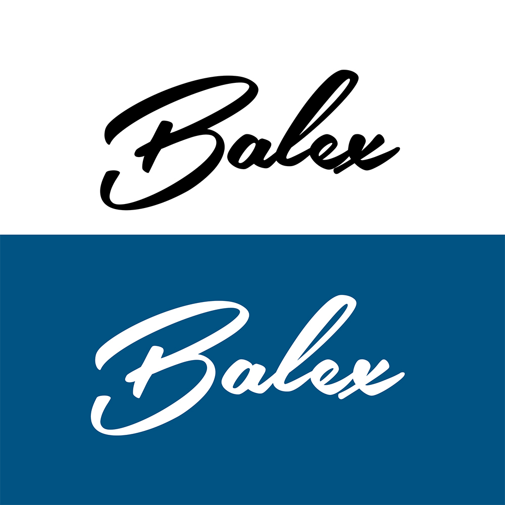 Serious, Professional Logo Design for balex by Emerson Jasbinschek