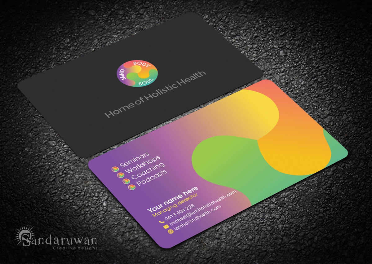Elegant, Playful, Life Coaching Business Card Design for Home of ...