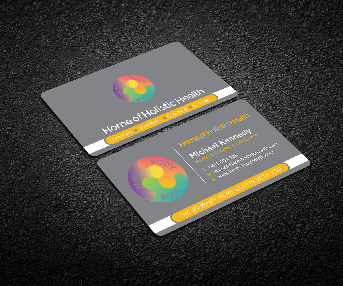 Elegant playful life coaching business card design for home of business card design by designcrowd for home of holistic health design 14881981 colourmoves