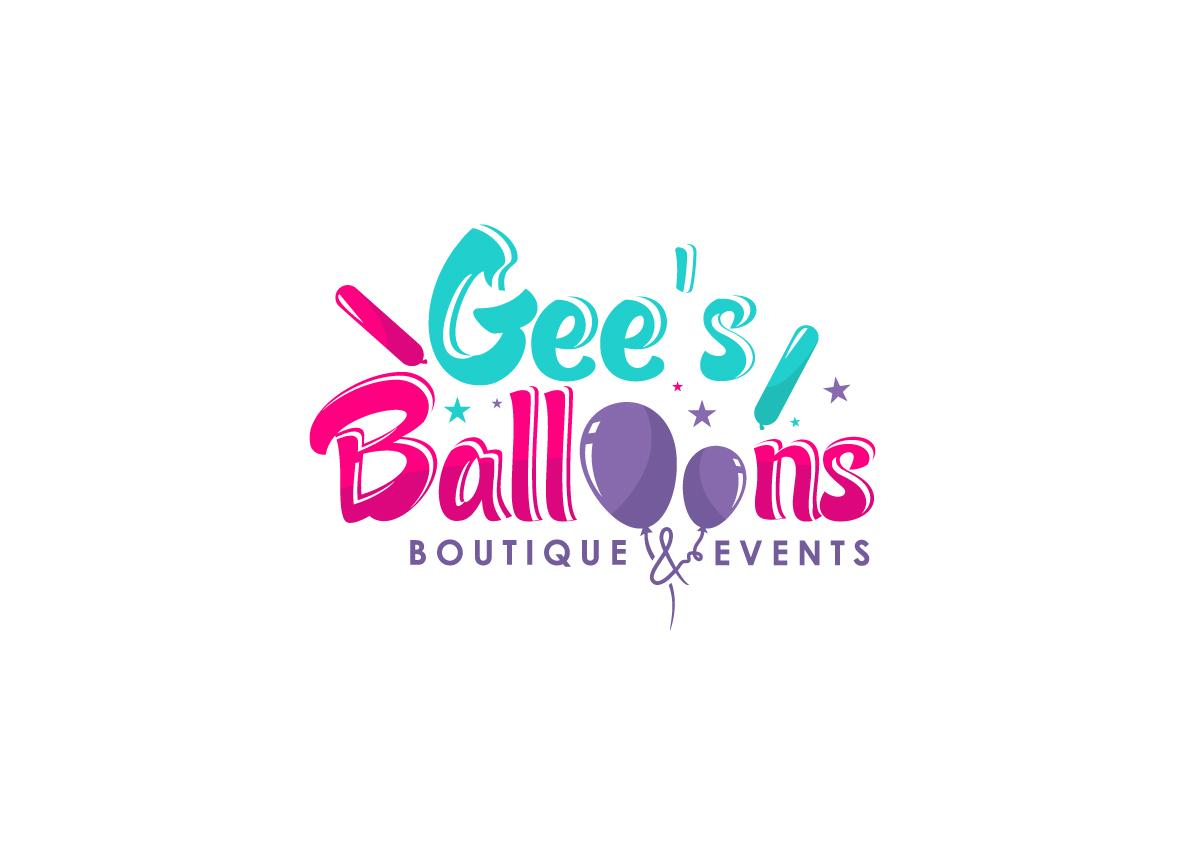 Modern Feminine Logo Design For Gee 39 S Balloons By Hih7