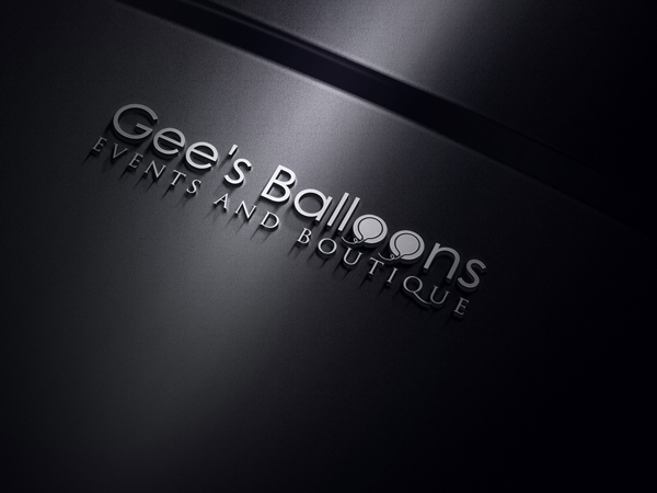 Modern, Feminine, Events Logo Design for Gee's Balloons - EVENTS AND