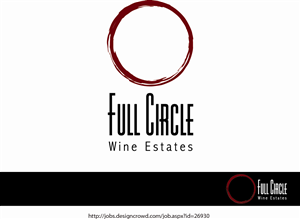 Logo Design by Daniel Lopez Denham - Cool, Elegant & Approachable Wine Company Logo ...