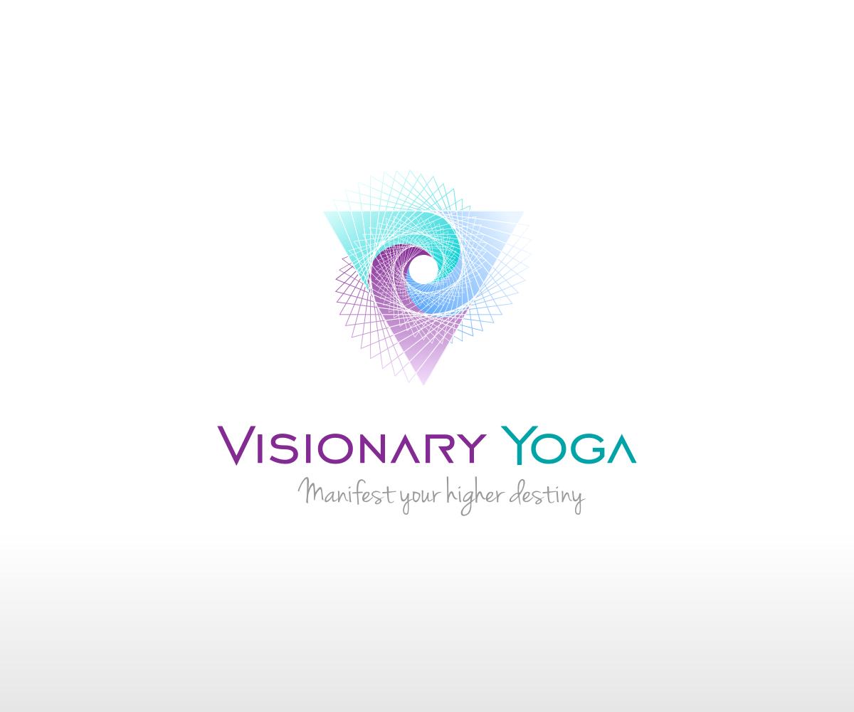 Wellness Design El | Modern Colorful Health And Wellness Logo Design For Visionary Yoga