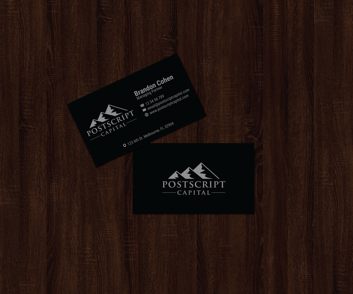 Masculine conservative finance business card design for a company business card design by jk18 for this project design 14615067 colourmoves
