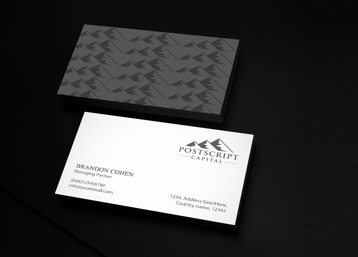 226 Masculine Business Card Designs | Finance Business Card Design ...