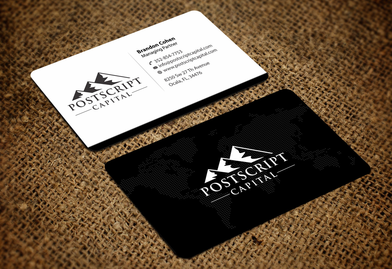 Masculine conservative business card design for carolyn cohen by business card design by madhuraminfotech for business card for managing partner investment fund design reheart Image collections