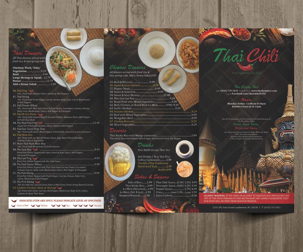 Images - Asian menu design