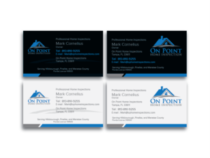 Home inspection business card design galleries for inspiration on point home inspection business cards business card design by dhamkith colourmoves