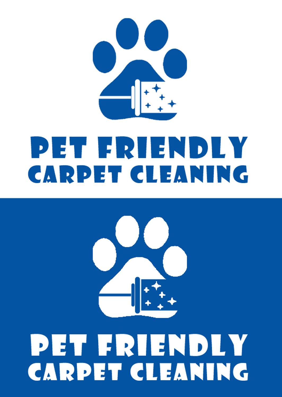 bold colorful pet logo design for pet friendly carpet