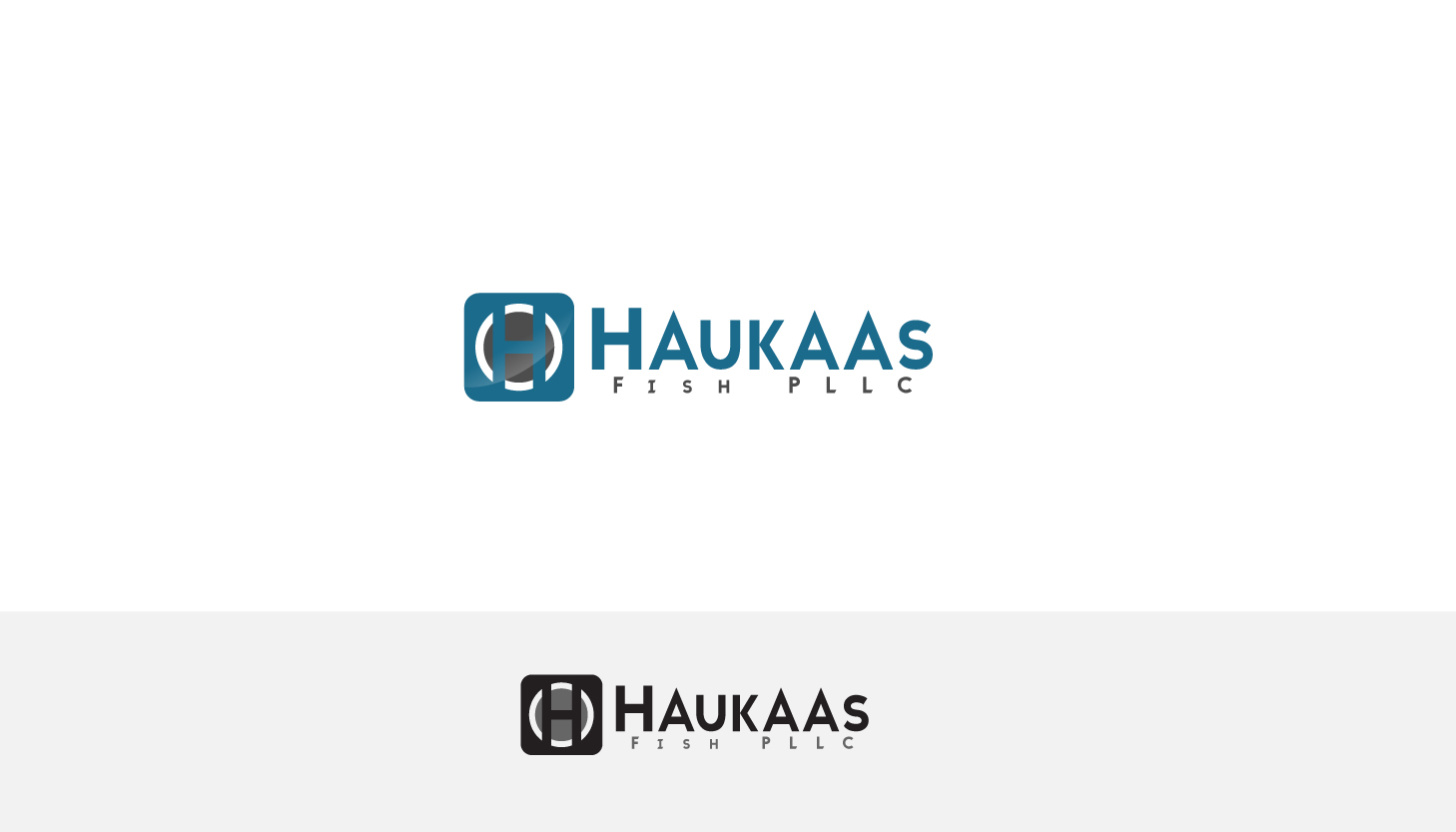 Law firm logo design for haukaas fish by parshdelhi for Fish law firm