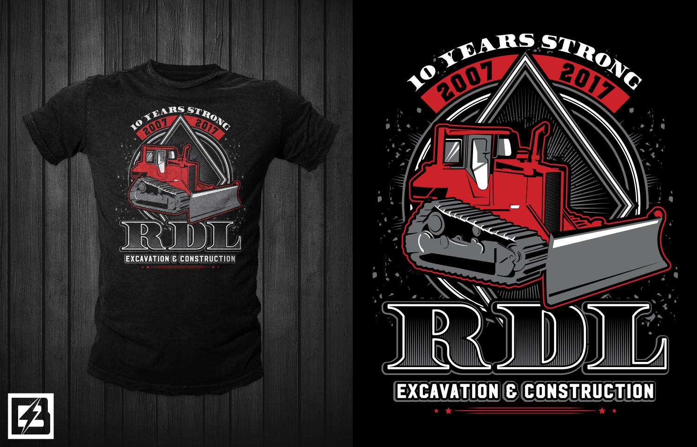 Building T Shirt Design For Rdl Excavation Amp Construction