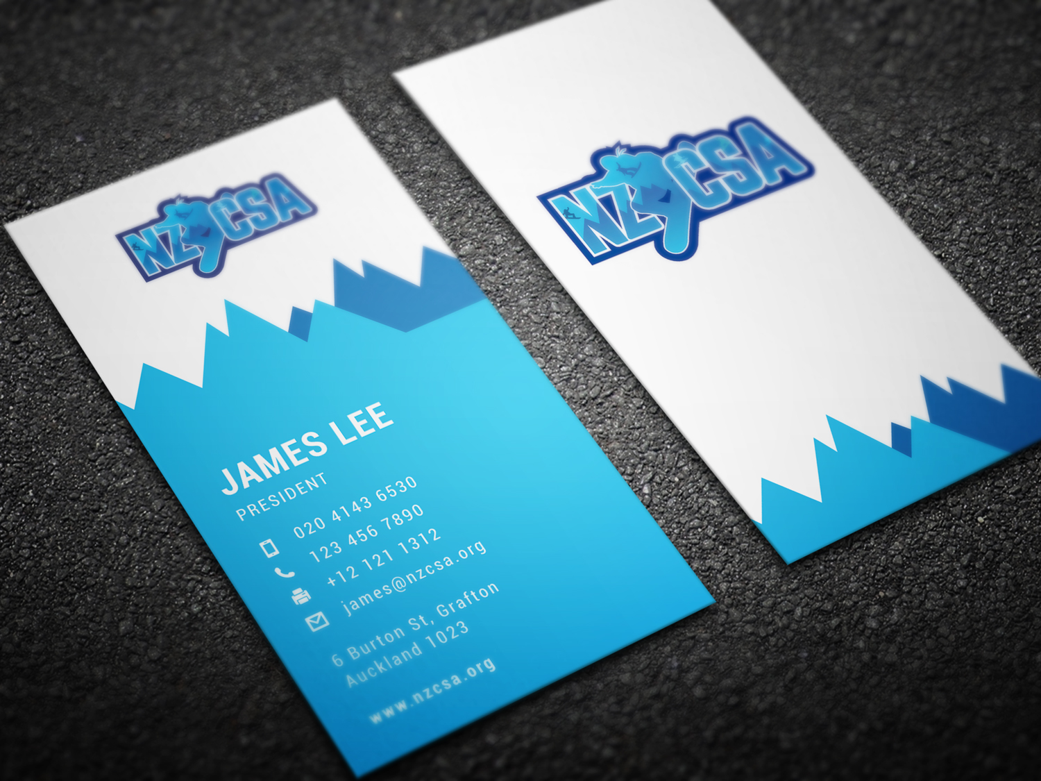 Modern, Professional, Social Club Business Card Design for a Company ...