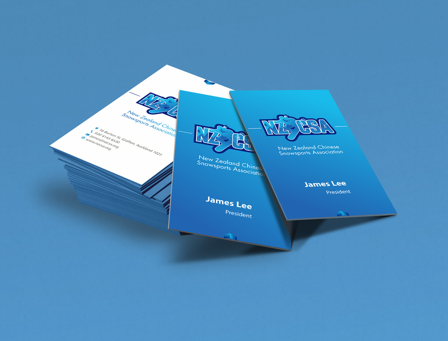 Business Card Design By Petter Goms For This Project