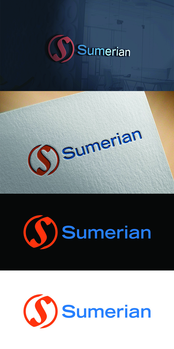 Serious, Modern, Music Download Logo Design for Sumerian by