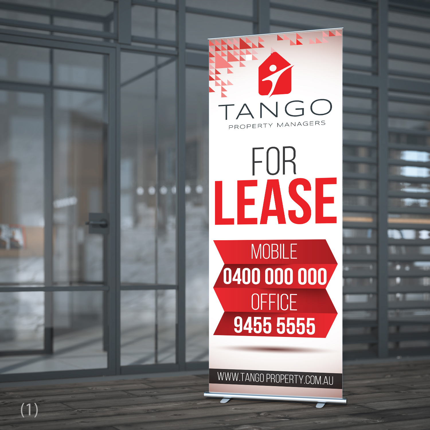 Modern, Elegant Signage Design for Tango Property Managers by ...