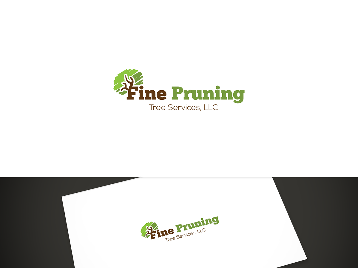 Traditional, Masculine, Industry Logo Design for Fine Pruning Tree ...