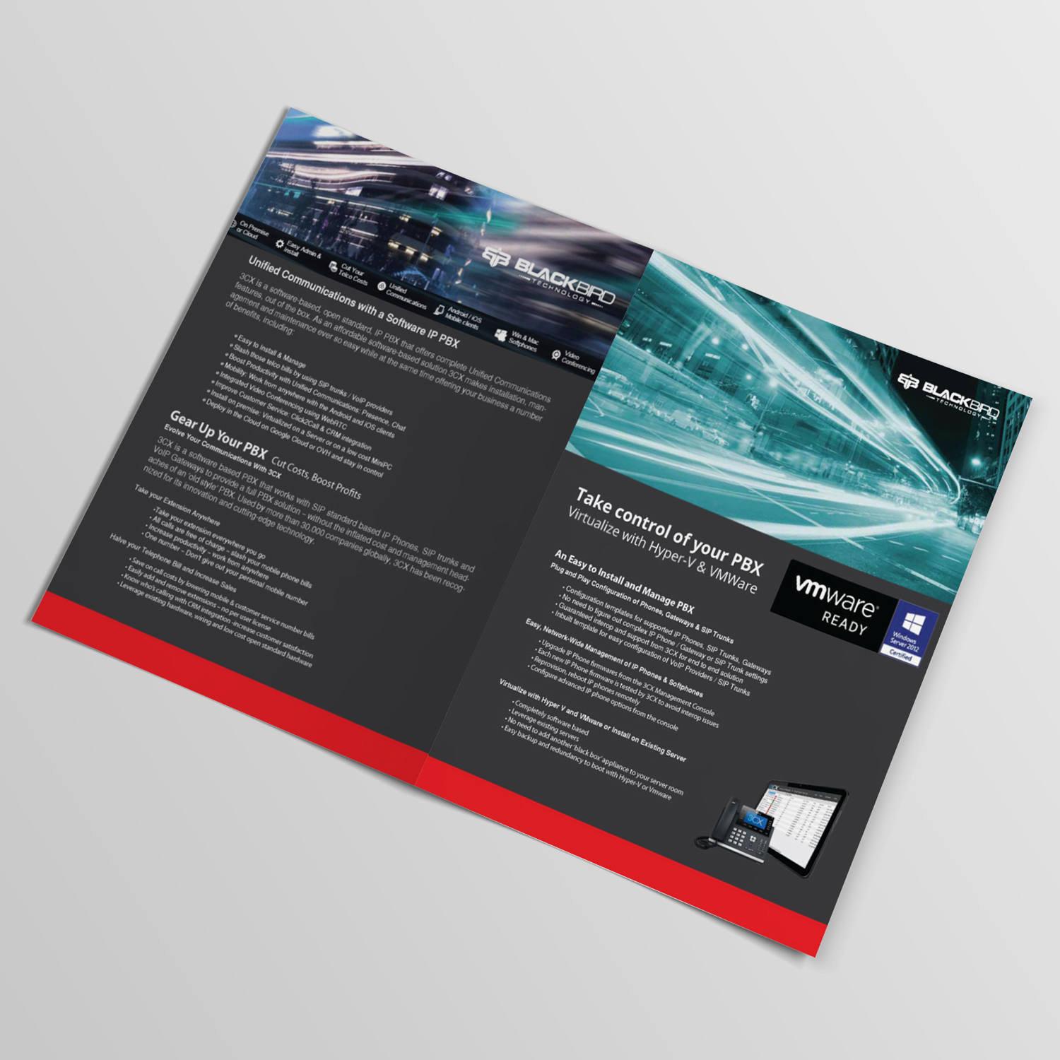 Professional, Bold, Internet Flyer Design for a Company by ...