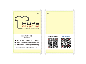 Business Card Design Contest Submission #642164