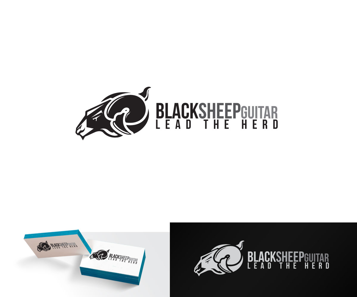 Black Sheep Logo amp Business Card Template  The Design Love