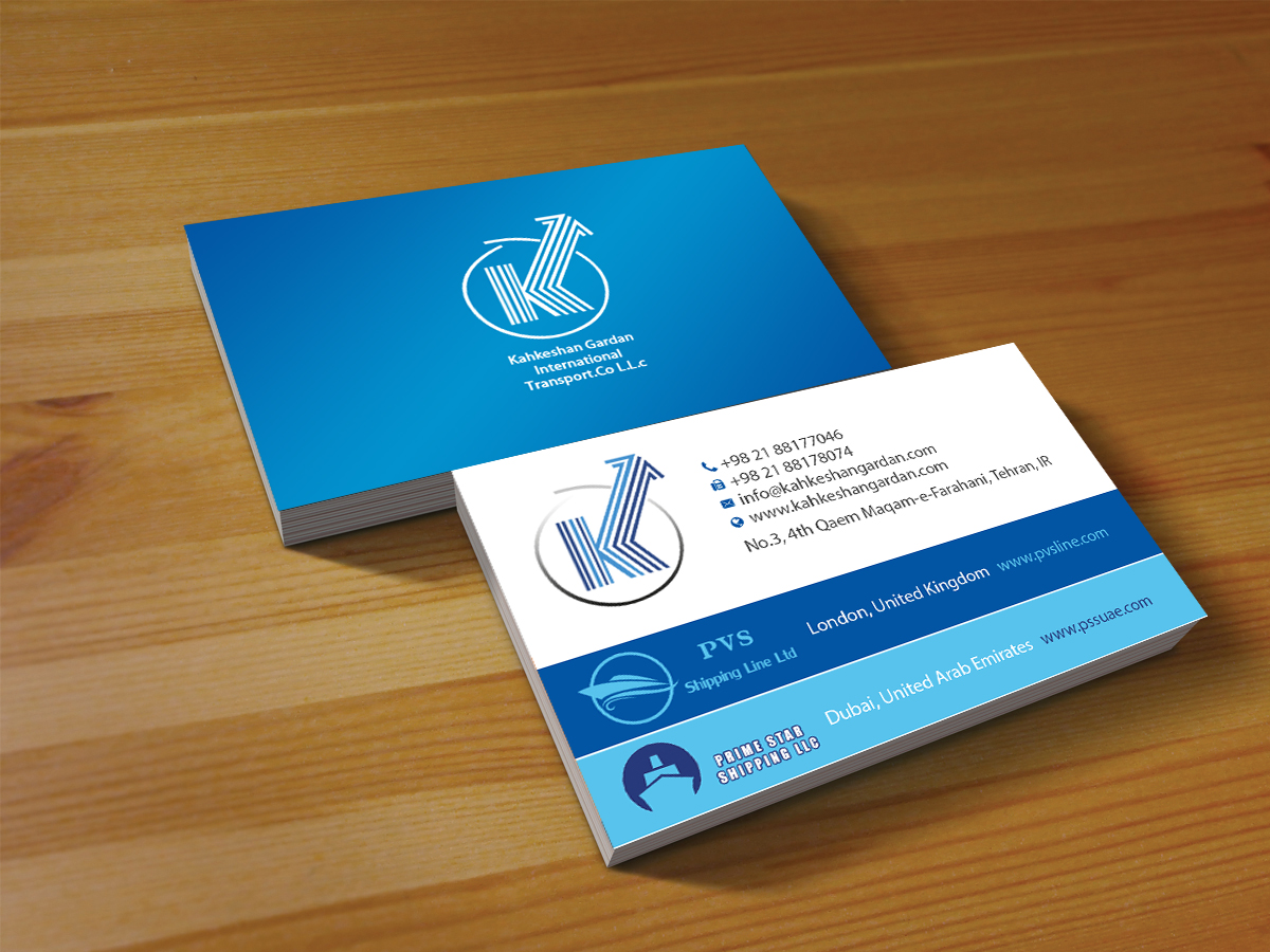 Serious, Modern Business Card Design for Prime Star Shipping LLC ...