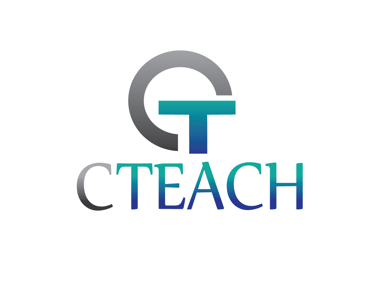 modern personable education logo design for cteach by c l designs design 2554377. Black Bedroom Furniture Sets. Home Design Ideas