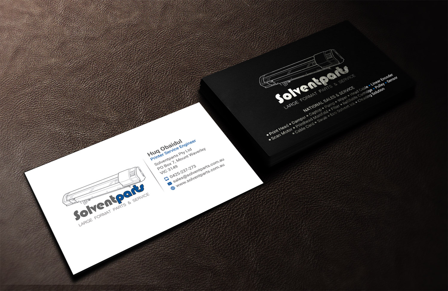 Personable conservative business card design for solventparts by business card design by sandaruwan for solventparts business card design 14715931 reheart Image collections