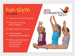 Brochure Design by tapstudio - New DL Brochures for Jets Gymnastics Centres