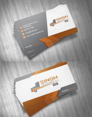 73 masculine business card designs trucking company business card business card design by bhairav for this project design 14797530 colourmoves