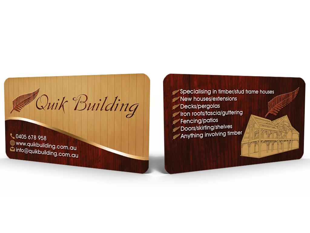Business card design for viliami halalilo by sandun harshana business card design by sandun harshana for new business card design project kiwi builders colourmoves