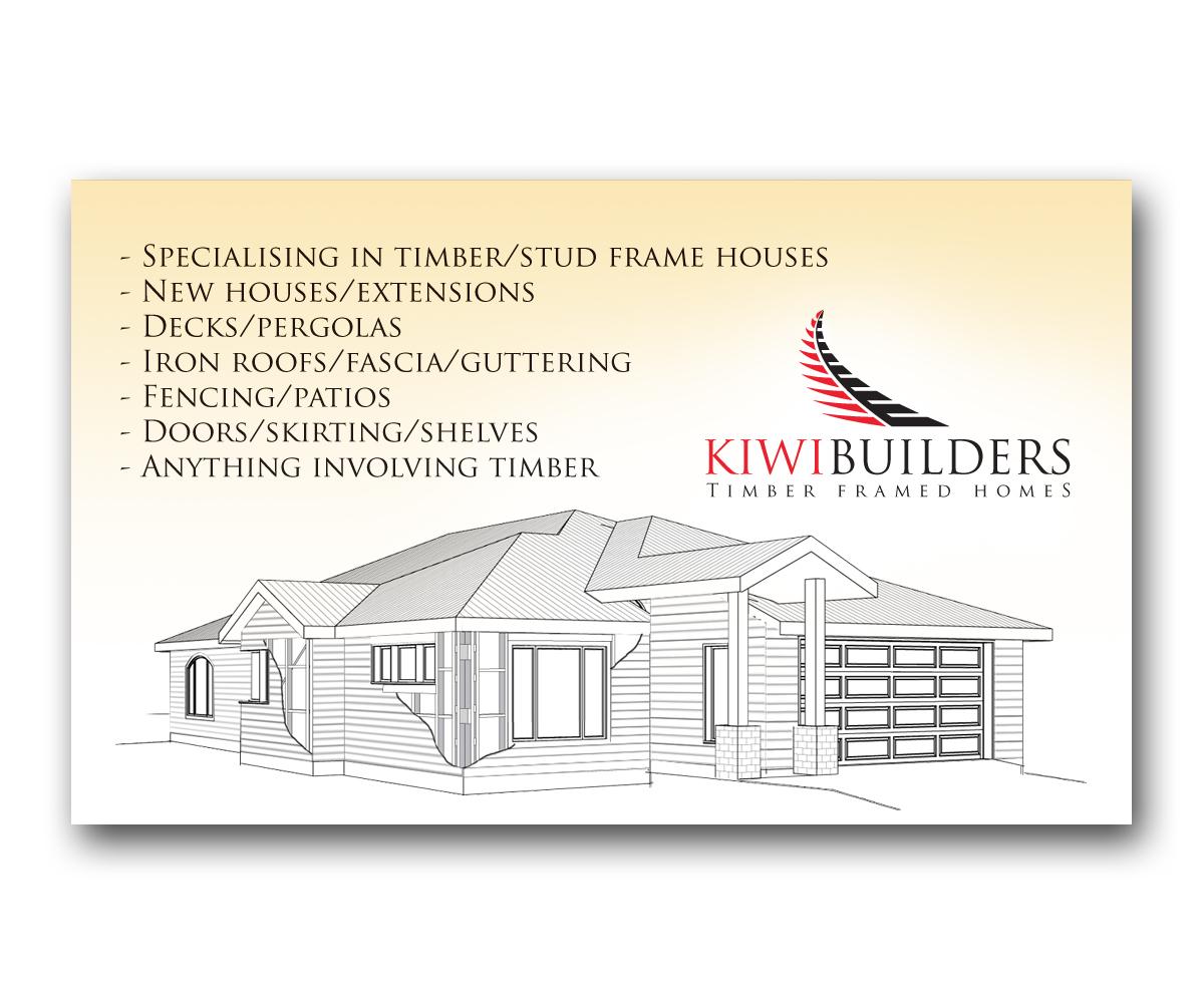 Business card design for viliami halalilo by inspia creative business card design by inspia creative for new business card design project kiwi builders colourmoves