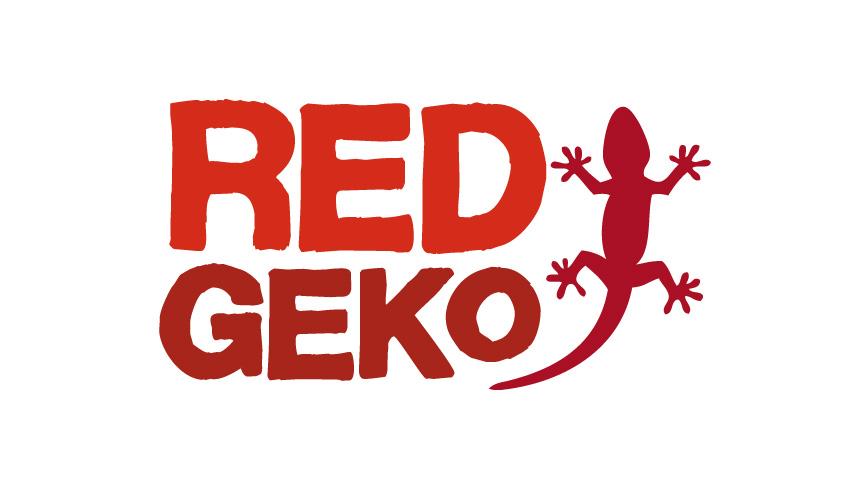 Red Geko Logo by Marta Sobczak