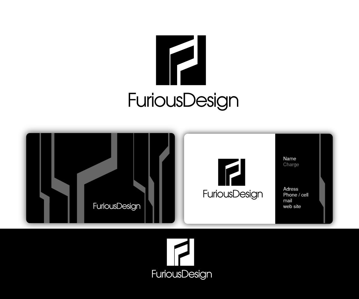 Conservative modern digital logo design for furious for Modern interior design logos