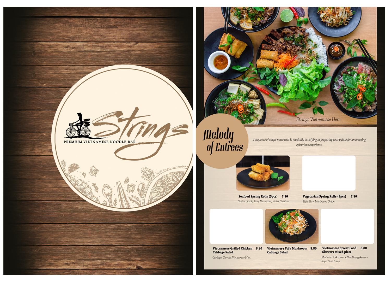 Restaurant Menu Design For Mariedent Australia By Ordelya Nicole Design 14775566