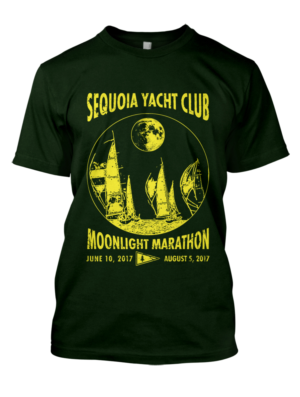 T Shirt Design (Design #14787199) Submitted To Moonlight Marathon Sailboat Race  T