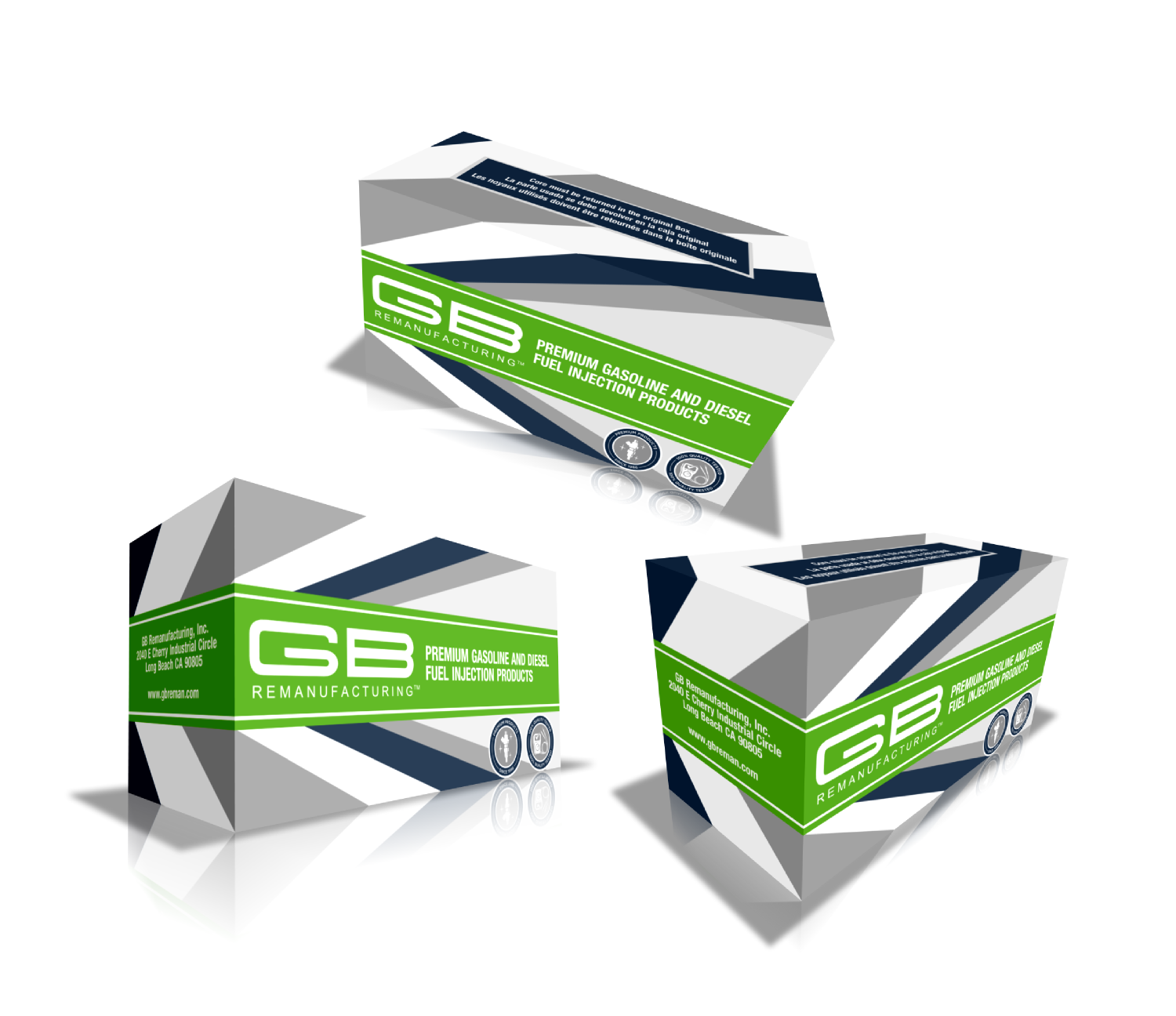 Upmarket, Serious, Automotive Packaging Design for GB