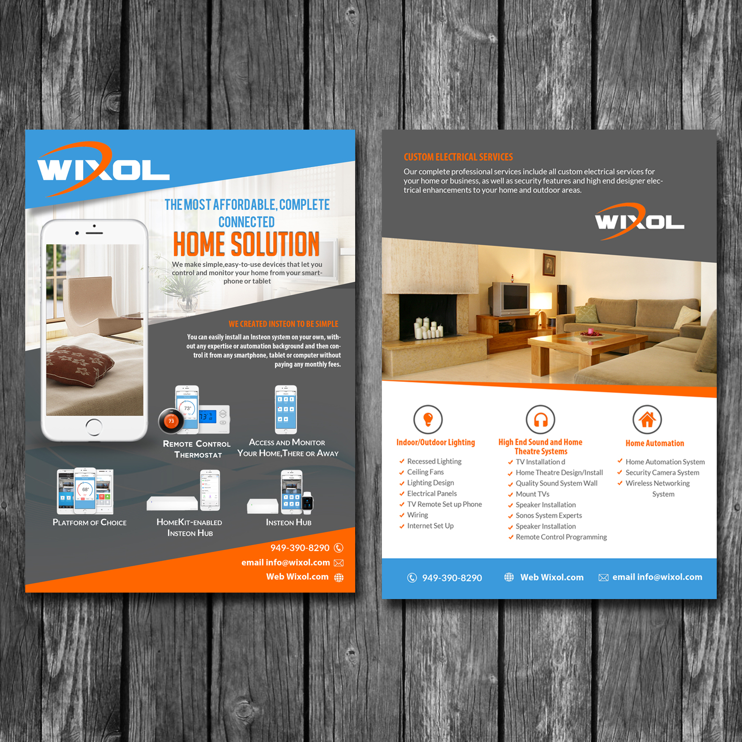 Modern Professional Professional Service Flyer Design For