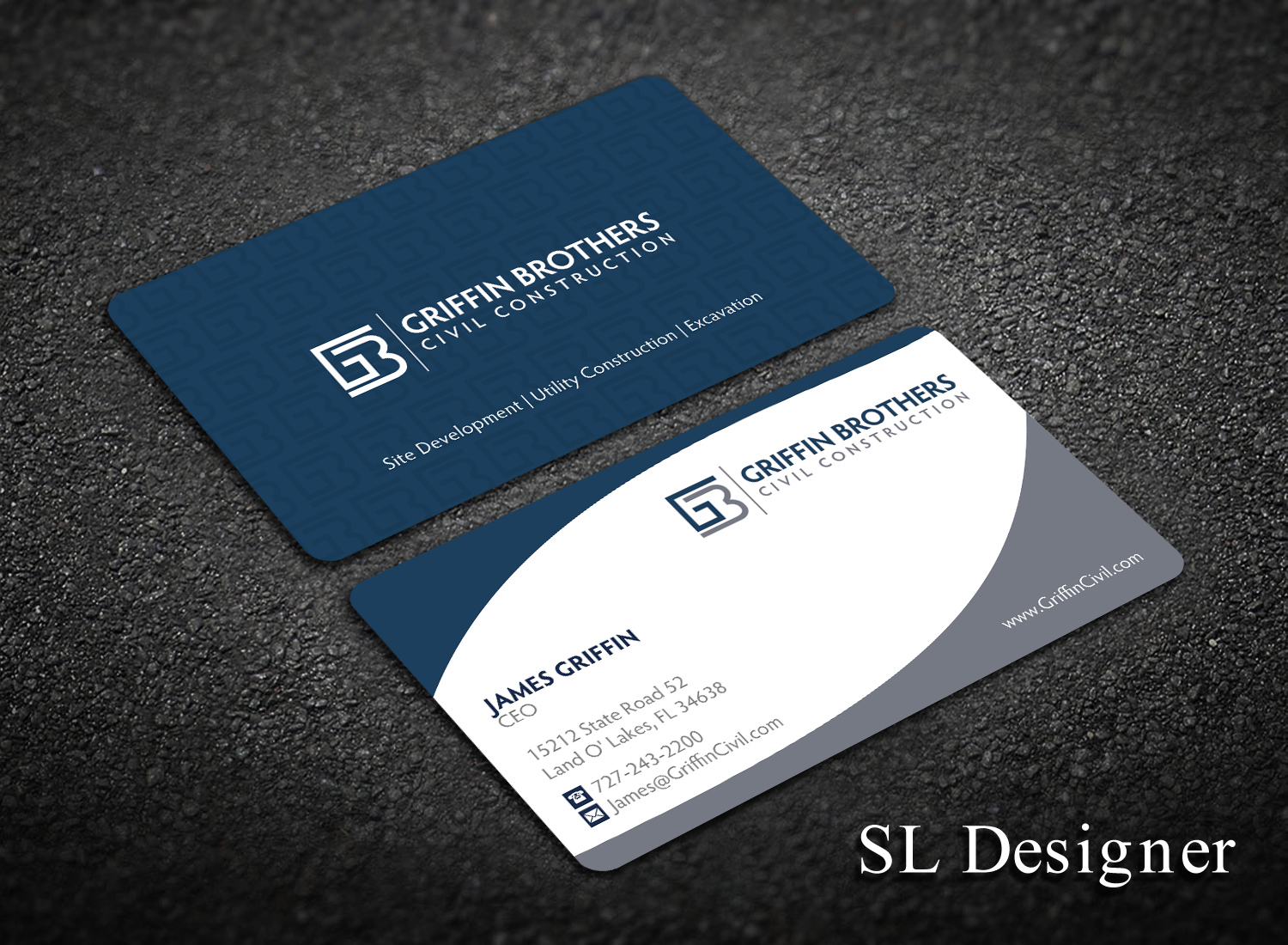 Bold serious business business card design for a company by sl bold serious business business card design for a company in united states design 14845027 reheart Images