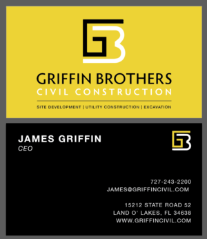 Utility business card designs 21 utility business cards to browse griffin brothers business card business card design by phasmadesign reheart Images