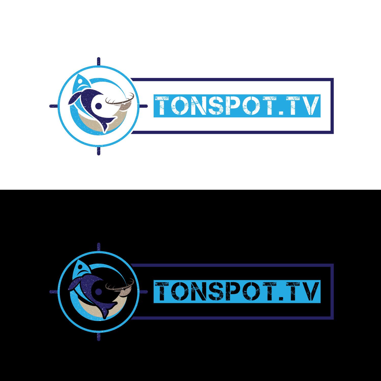 Modern, Masculine, Television Station Logo Design for