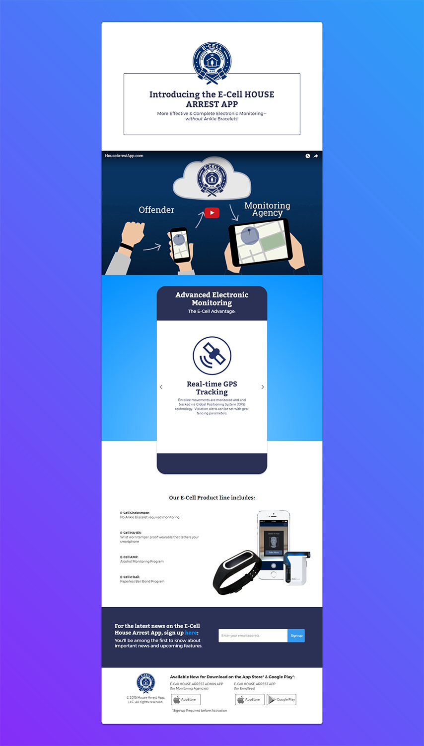 Modern, Bold, Legal Email Marketing Design for E-cell,inc by