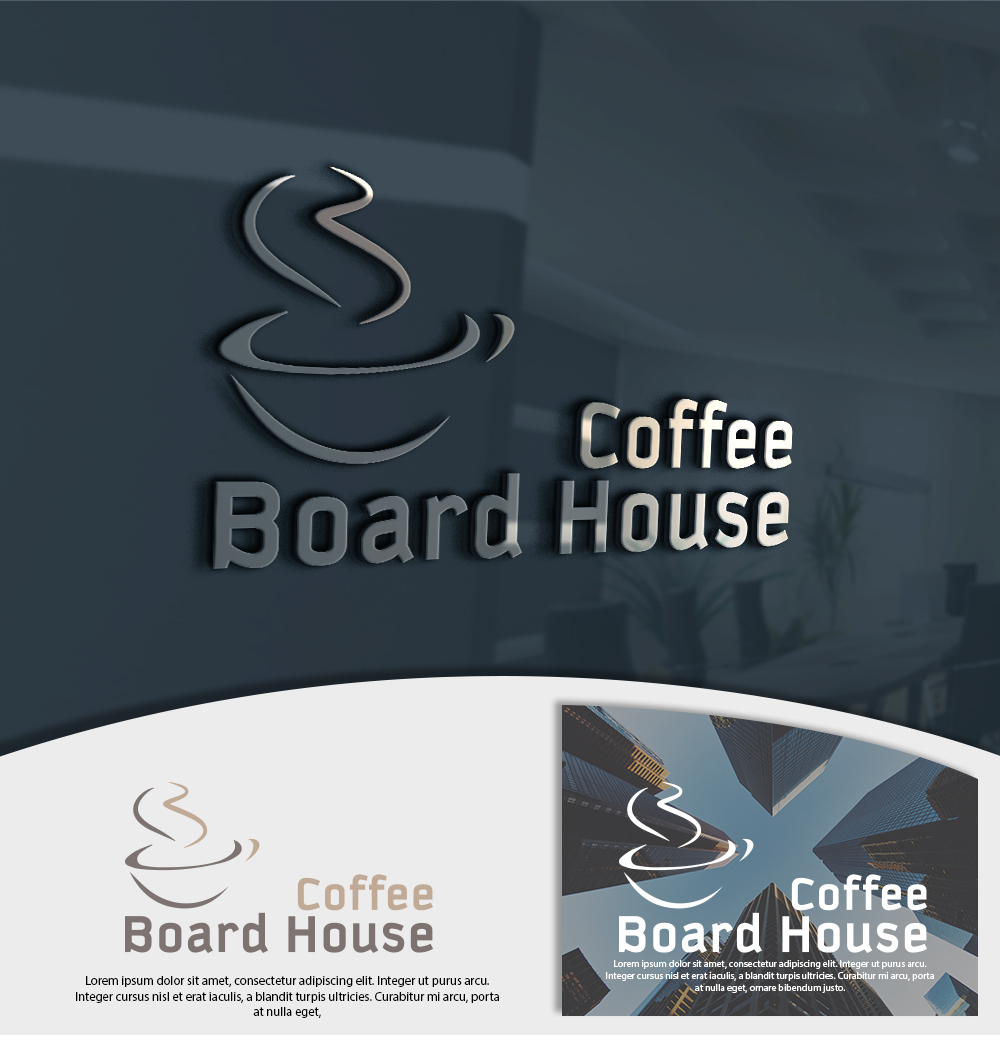 Elegant, Playful, House Logo Design for Board House Coffee by zegma ...