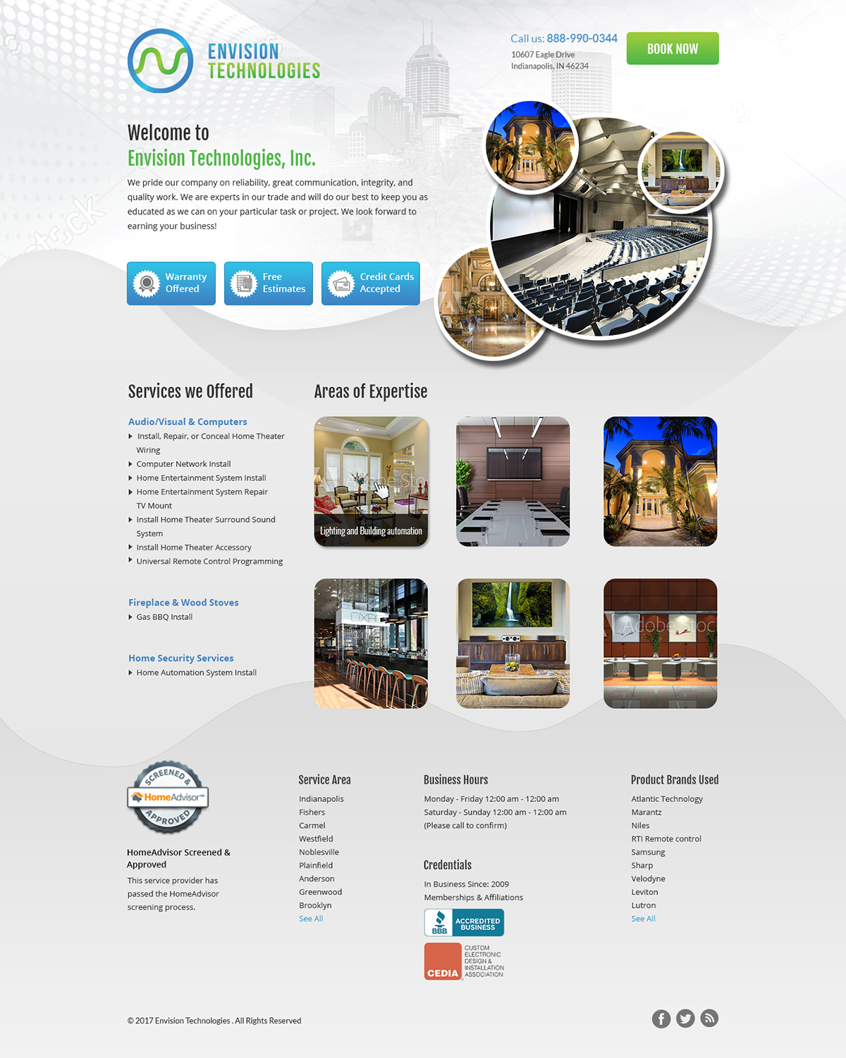 Serious, Professional, Business Landing Page Design for a Company by ...